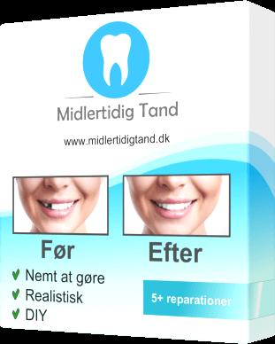 Kob din midlertidig tand